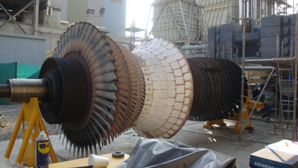 Mantenimiento de Turbinas a Gas y Vapor