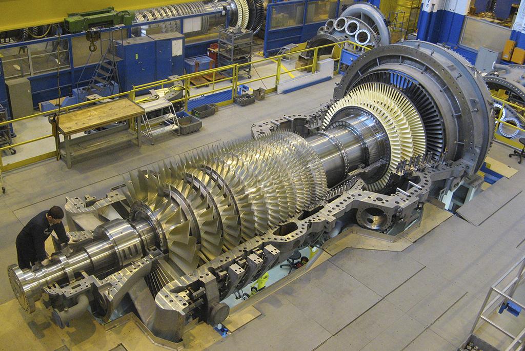 Mantenimiento y Reparación de Turbinas y Generadores