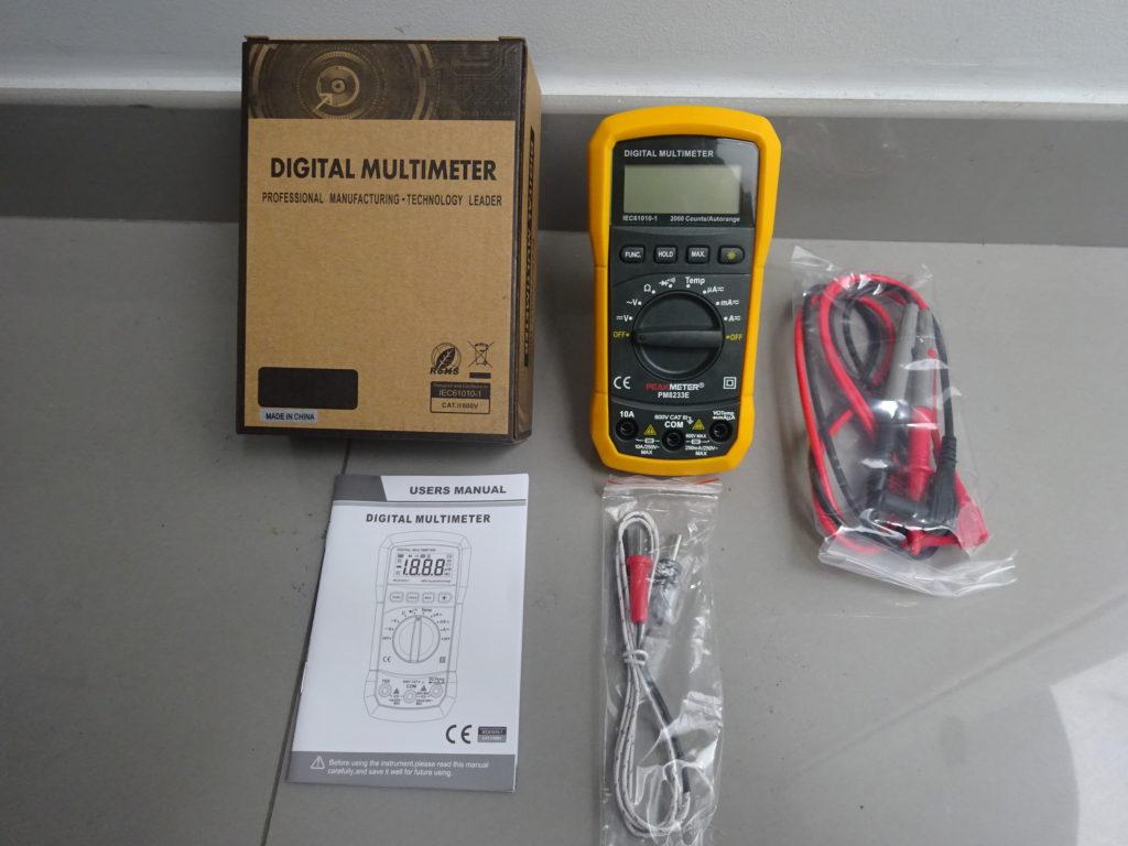 Multímetro Digital Peak Meter- PM8233E