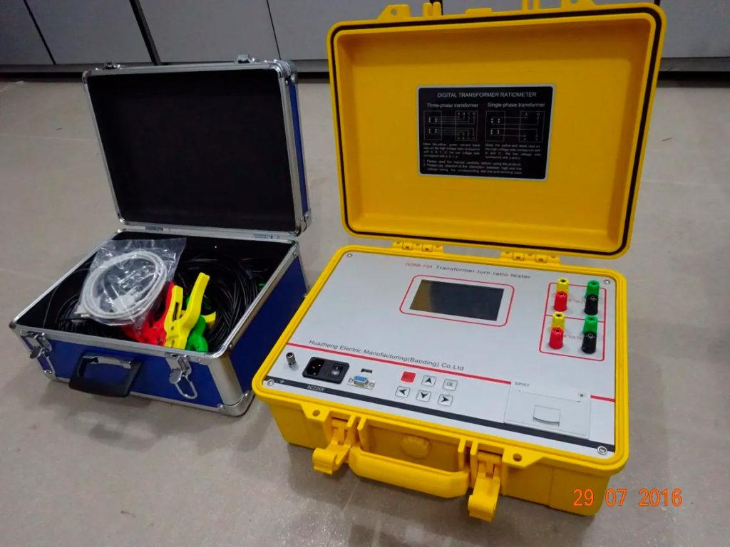 Medidor Automático De Relación De Transformación TTR