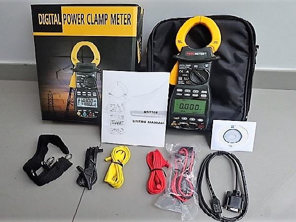 Pinza Amperimétrica Digital Trifásica – Peak Meter MS2205