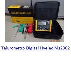 Telurometro Digital Hyelec Ms2302