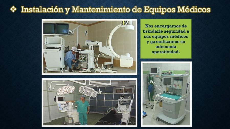 Mantenimiento de Equipos Médicos