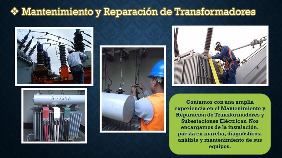Mantenimiento y Reparación de Transformadores