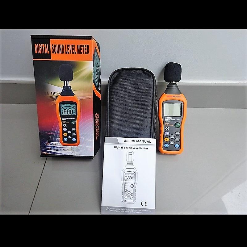 Digital Peak Meter : Sonómetro digital peak meter ms
